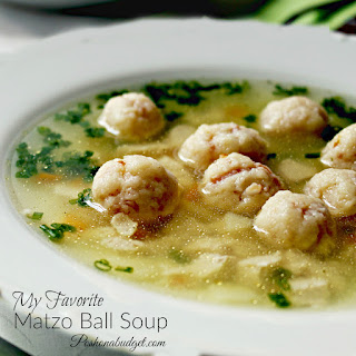 My Favorite Matzo Ball Soup