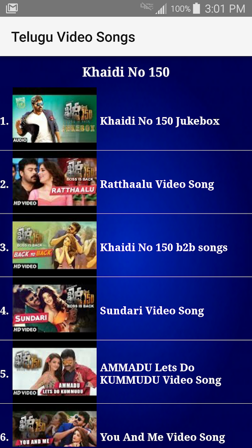 Telugu Video Songs- screenshot