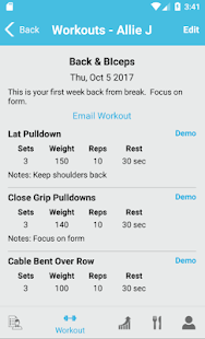 FitSW - Fitness Software for Personal Trainers- screenshot thumbnail