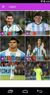 Argentina National Football Team HD Wallpapers - náhled