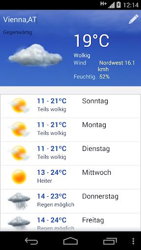 Wetter screenshot 1