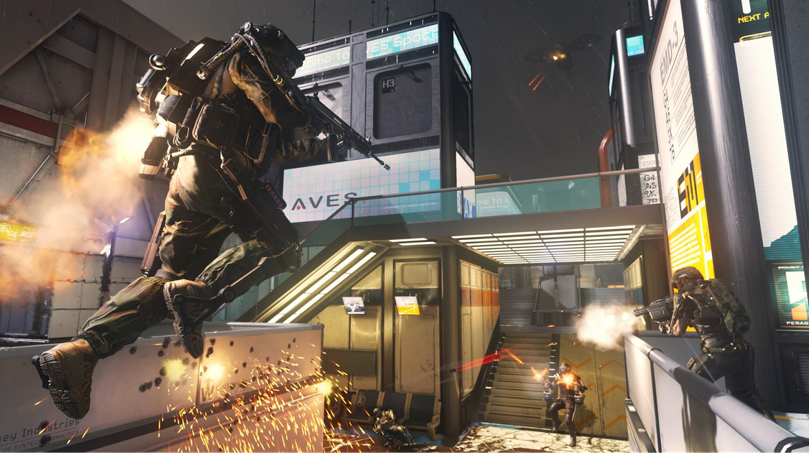 Call Of Duty Advanced Warfare MULTi8-PROPHET [Action|Full ISO]