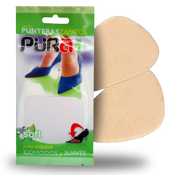 Punteras Püra+ Soft Para   Zapatos Cómodos Y Suaves Par X1Und.