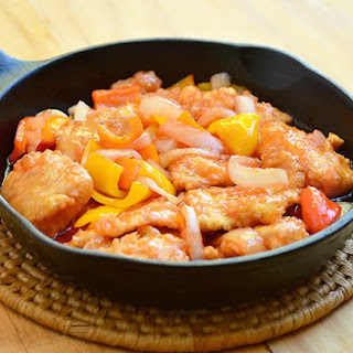 Sweet and Sour Sauce Fish.