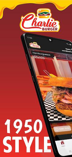 Charlie Burger Food captures d'écran 1