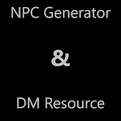 D&D 5E NPC Generator and DM Resource