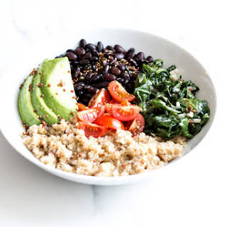 Plant-Based Black Bean & Quinoa Bowls.