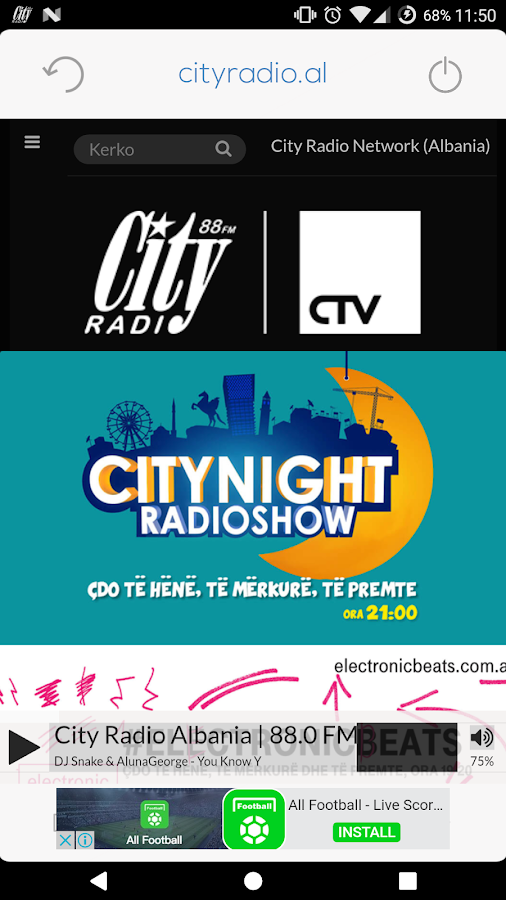 City Radio 88.0 FM- screenshot