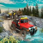 Offroad Long Trailer Truck Sim - Jeep Prado Games Icon