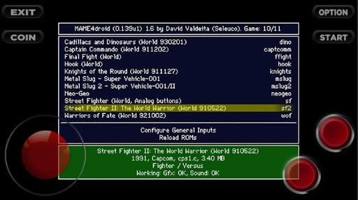 Arcade games : King of emulators 1.0 screenshots 7