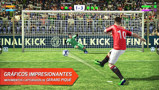 Final Kick: Fútbol online para Android