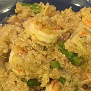 Shrimp Mushroom Quinoa Recipes