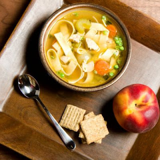 Copycat Panera Chicken Noodle Soup.