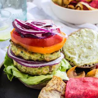 Zucchini Fritter Veggie Burger