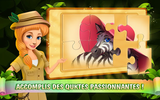 Zoo Island: Exotic Garden APK MOD – Pièces Illimitées (Astuce) screenshots hack proof 2