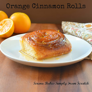 Citrus Orange Cinnamon Rolls