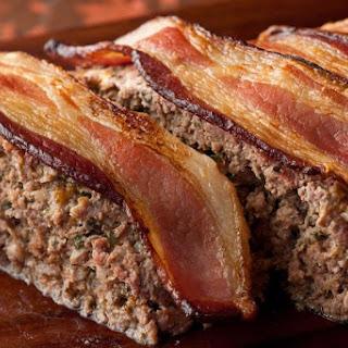 Bacon-Cheddar Meatloaf.