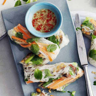 Rice Paper Rolls With Beef Recipes.