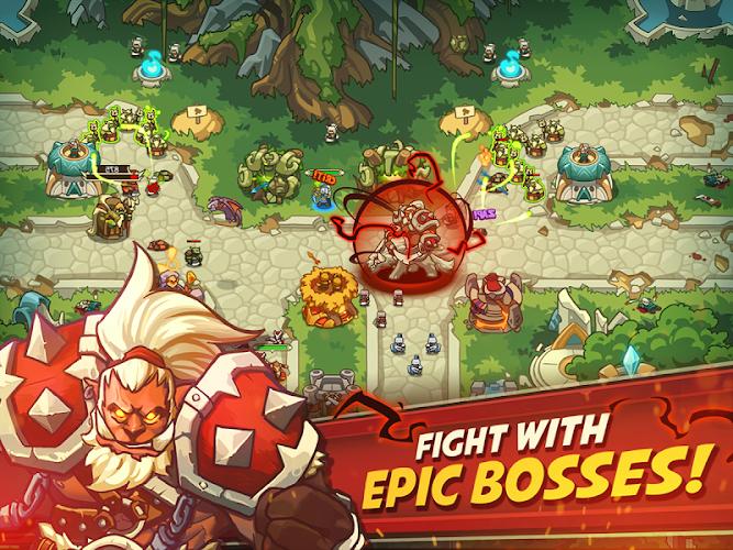 Empire Warriors TD Premium Android App Screenshot
