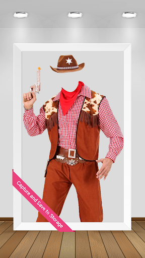 Cowboy Photo Suit Maker