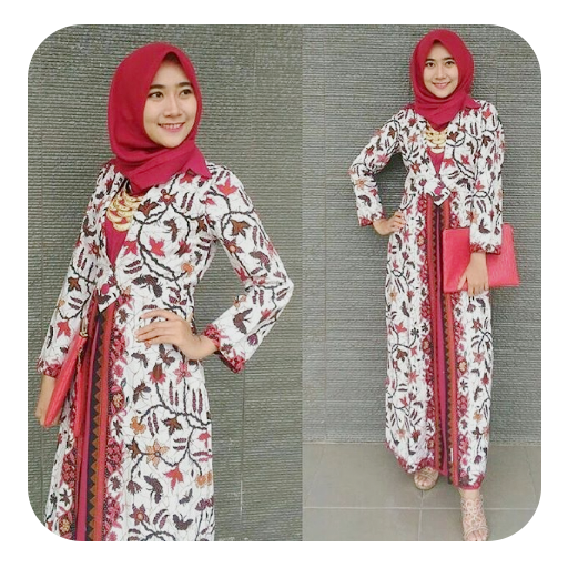 Download Model Gamis Batik Modern Google Play Softwares