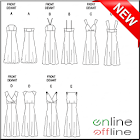 700+ Women Clothing Patterns icon