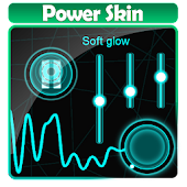 Soft glow Poweramp Skin