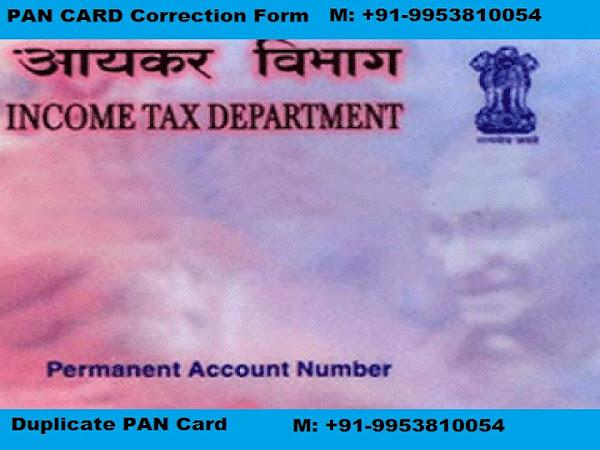 Top 100 PAN Card Registration, Consultants in Kondli | Apply NSDL UTI  Duplicate Correction Download