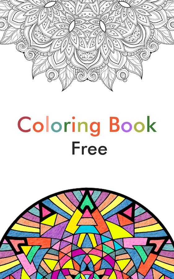Free Family Coloring Book Screenshot