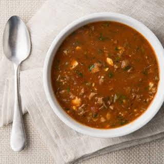 Creole Turtle Soup.