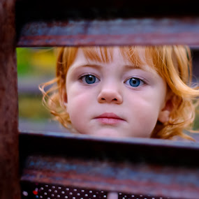 Blue eyes by Morgan Dudley - Babies & Children Children Candids
