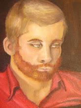 "Photo: ""Portrait of Zach"" (Oil on canvas)"
