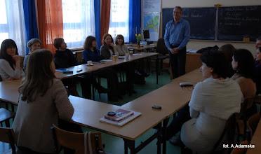 Photo: Dzięki uprzejmości IB w naszej szkole odbyły się warsztaty dla nauczycieli prowadzone przez p. Michaela Hawkinsa z Kanady.