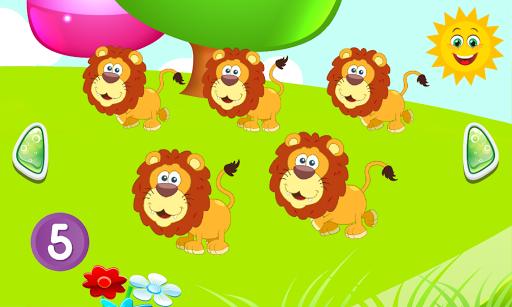 玩免費教育APP|下載123 赤ちゃんのための動物数え app不用錢|硬是要APP