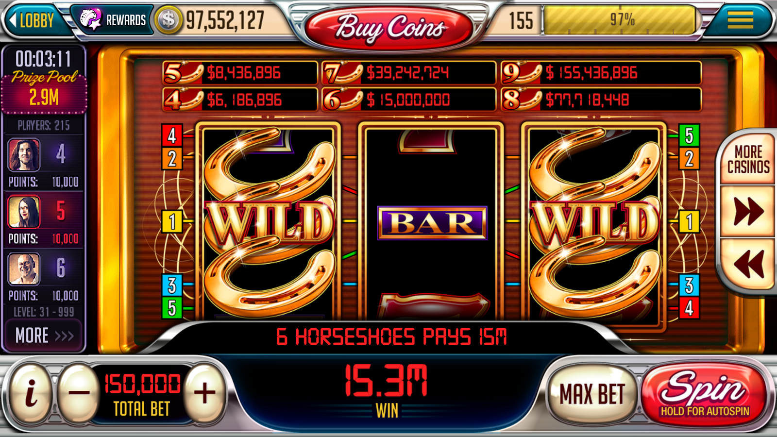 vegas downtown slots free coins