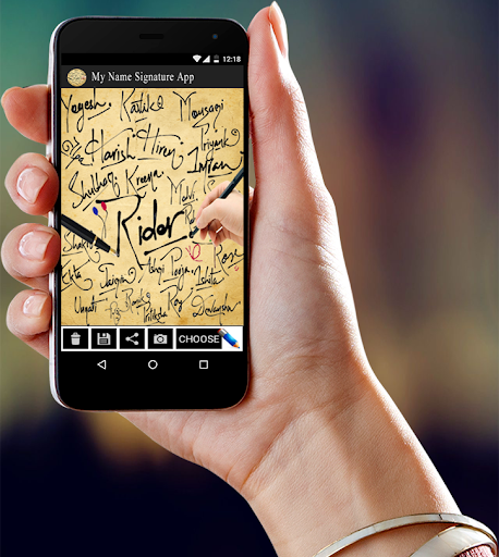 My Name Signature App screenshot 1
