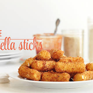 String Cheese Mozzarella Sticks.