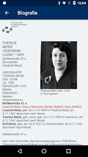 Stolpersteine Hamburg- screenshot thumbnail