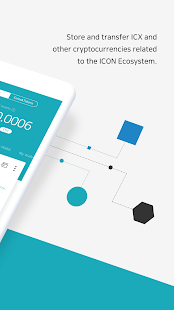 Iconex wallet which various cryptocurrencies