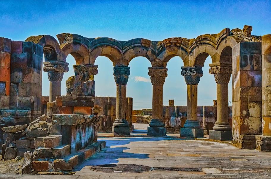 Первый раз на Кавказ (Армения)