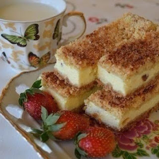 Cottage Cheese Sand Cake
