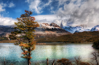 Photo: Stopping for Lunch at the Emerald Lake in the Andes  We stopped at this mountain lake to relax and have a quick lunch.  It was a good chance to drop off the bag, put together my camera and tripod, then break it all down again, repack, and get back on the hike.  From the blog at www.stuckincustoms.com