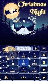 Christmas-Night-Keyboard-Theme 1