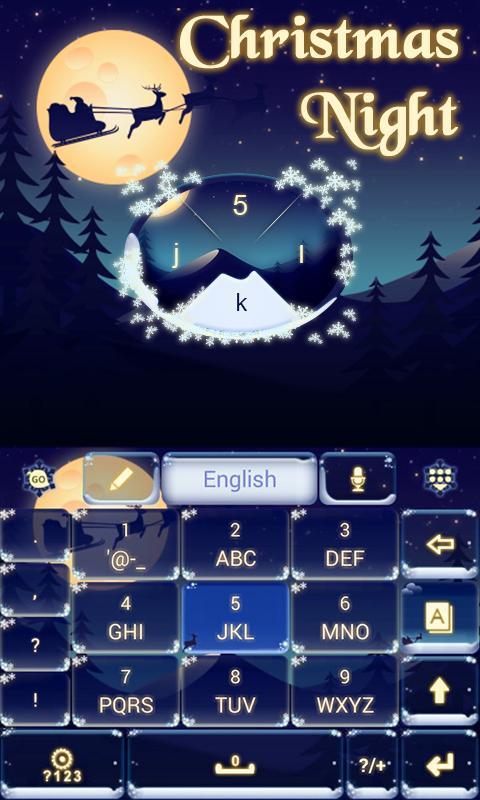 Christmas-Night-Keyboard-Theme 8