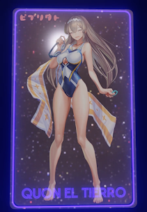 Quon's swimsuit style NFT - Pleased version 1/1