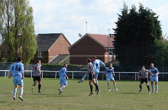 Photo: 25/04/09 v Louth Town (CMLP) 1-2 - contributed by Emma Jones