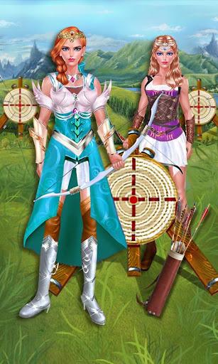 公主戰士: 保衛家園- 為出征前的公主換裝打扮!