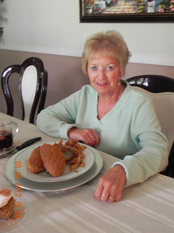 I invited my parents over for brunch today and they really enjoyed their sammies,...