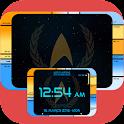 Starfleet LCARS Clock