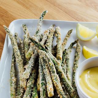 How To Make Super-Crispy, Oven-Baked Asparagus Fries